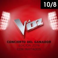 La voz - concierto del ganador